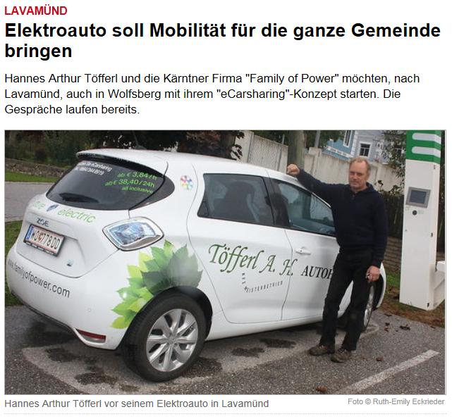 Bericht Kleine Zeitung 07102015